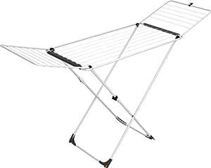 Vileda Universal Tendedero X-legs de Acero Inoxidable, Blanco, 129x5x55 cm