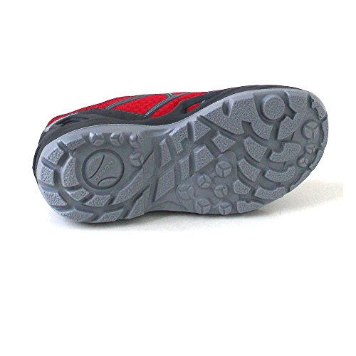 Lowa GTX Diego lime light Red children Red Grey Outdoorschuhe grey Lo 6Cfq6wH