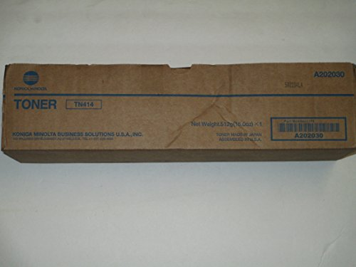 B 363, 423 OEM Black Toner Cartridge TN414 (Minolta Hp Toner)