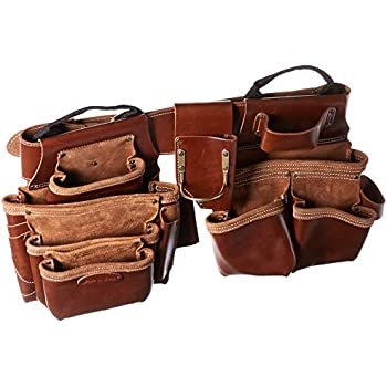 186208bf4993 Style n Craft 98444 19 Pkt Framer s Combo in Top Grain Leather (4 Piece)