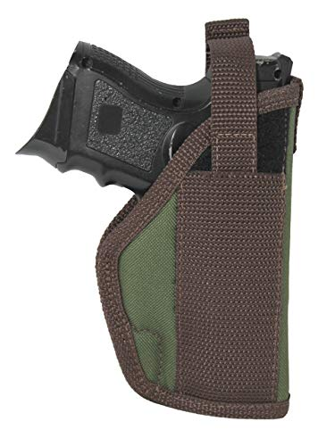 Barsony New Woodland Green Outside The Waistband Holster for Glock 19 23 26 27 28 39 Right