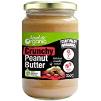 Absolute Organic Peanut Butter Crunchy, 350g
