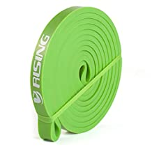 RISING 41 inch Resistance Band Assisted Pull-Up Band Powerlifting Bands (Single Unit)