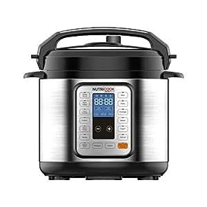 Nutricook Smart Pot by Nutribullet 6 Liters 9 in1 Electric Pressure Cooker, 1000 Watts