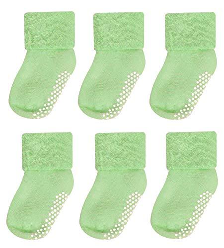 Baby Socks 0-3,Mossio 6 Pairs Cozy Little Girls