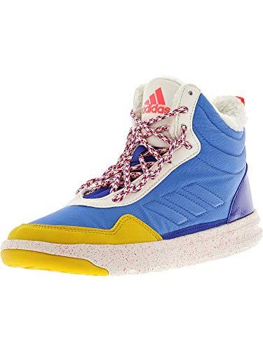 adidas Women's Irana Cross-Trainer Shoe, Lucky Super Yellow/Bold Blue, 6.5 M US
