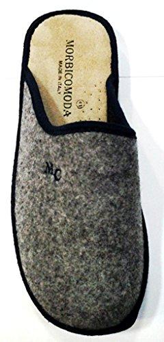 morbicomoda , Chaussons pour homme Gris gris 43