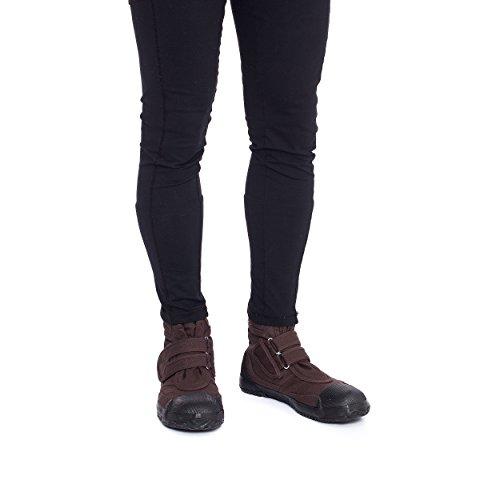 Fugu Ba Japansk Ankel Høje Industrielle Taktiske Mode Arbejde Støvler, For Kvinder, Mænd (se Farve, Størrelse Optioner) Mørkebrun