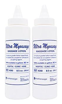 Ultra Myossage Massage Lotion - 8.5 oz Bottle - Pack of 2