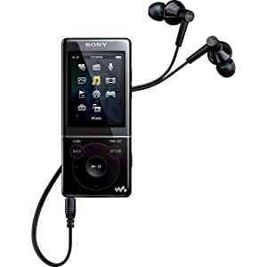 Sony NWZE474 8 GB Walkman MP3 Video Player (Black) (Discontinued by Manufacturer)