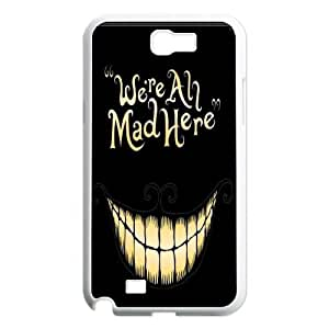 High Quality Phone Case For Samsung Galaxy Note 2 Case -Alice in Wonderland-LiuWeiTing Store Case 2