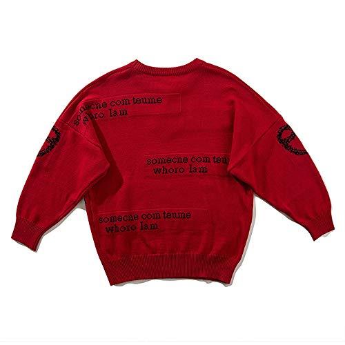 Da Hip Stampato Go Red Maglione Easy Shopping Donna Girocollo Hop HaXqC