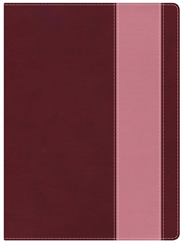 Holman Study Bible: NKJV Edition, Crimson/Coral LeatherTouch