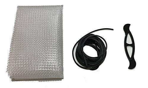 Far Edge Aquatics Clear Mesh Netting Screen Kit