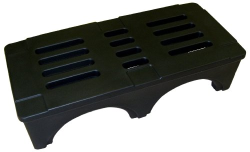 Forte Products 8002028 SureStack Plastic Dunnage and Storage Rack, 3000 Lb. Load Capacity, 48