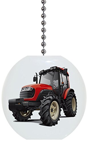 Red Cab Tractor Solid Ceramic Fan ()