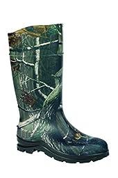 Ranger Field  General PVC Men\'s Rain Boots, Realtree AP Camo (18856)