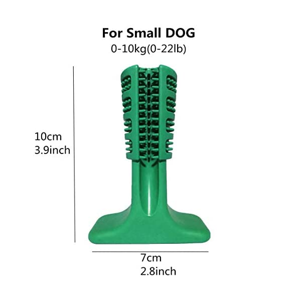 VANUODA Dog Brushing Stick,Chew Cleaning Teeth Toothbrush, Pets Oral Care, Dental Hygiene Toy for Puppy, Cats, Most Pets, Gift for Pets Lover (S) 7