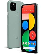 Google Pixel 5 (5G) Android - 128 GB + 8GB RAM - Water Resistant - SIMFree Unlocked Smartphone - Sorta Sage