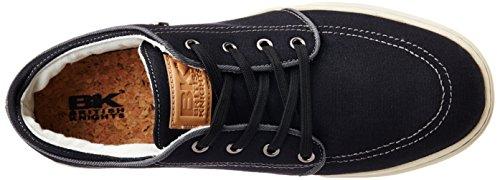 British Knights - Zapatos de cordones de Material Sintético para hombre Negro negro 40