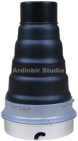 Ardinbir Studio Heavy Duty Metal Snoot with Honeycomb Grid for Elinchrom Calumet Genesis /& some interfit EXD, EX Strobe Monolight Light