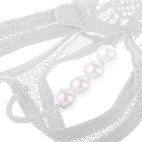 Perizoma Sharplace Biancheria 6 Intimo Morbido Donne Pizzo Tanga C String Mutande Invisibile Perline Di Mutandine rqSXqwaA