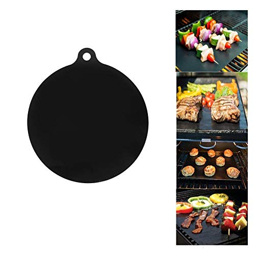 Elprico Silicone Heat Insulated Pad, Heat Resistant Mat, Anti-Slip Mat, Toaster Oven for Air Fryer Coffee Maker for Microwave(Round)