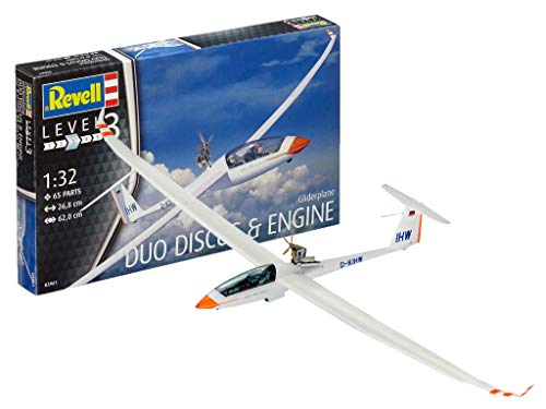 Revell 03961 Gliderplane Duo Discus and Engine Model Kit