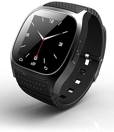 rwatch m26s Wearables reloj inteligente, Rastreador de Actividad Tracker/sueño/despertador para Android/iOS/Windows Mobile