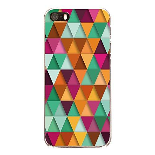 "Disagu Design Case Schutzhülle für Apple iPhone 5s Hülle Cover - Motiv ""Bunte Dreiecke 3"""