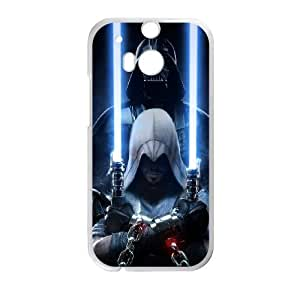 Star Wars HTC One M8 Cell Phone Case White Exquisite gift (SA_480195)
