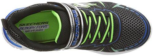 Skechers Dovex, Zapatillas de Entrenamiento Para Niños Negro (Black/royal)