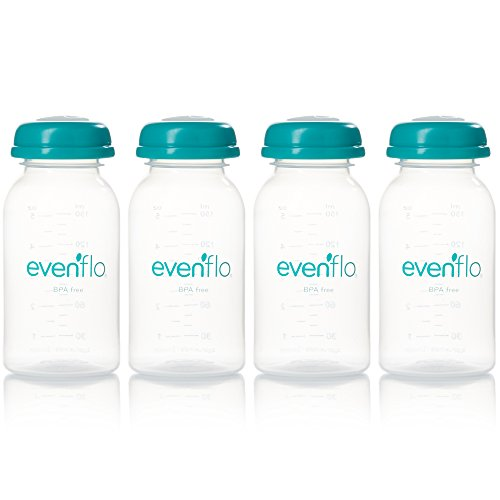Evenflo Milk Collection Bottles,5oz,