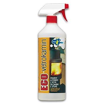 Spray para limpiar cristales estufas y chimeneas eco-vetrokamin: Amazon.es: Hogar