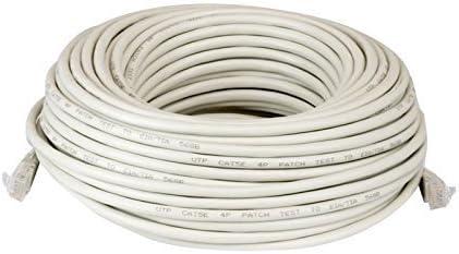 200ft feet RJ45 CAT5 CAT5E Ethernet LAN Network Cable Patch Cord Jumper Black