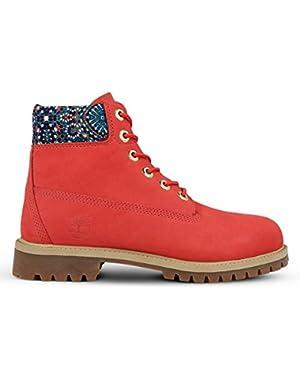 Youth 6 Inch Premium Nubuck Boots
