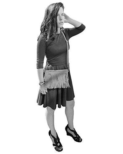 histoireDaccessoires - Clutch de Cuero de Mujer - PO002621I-OE-Federico Negro