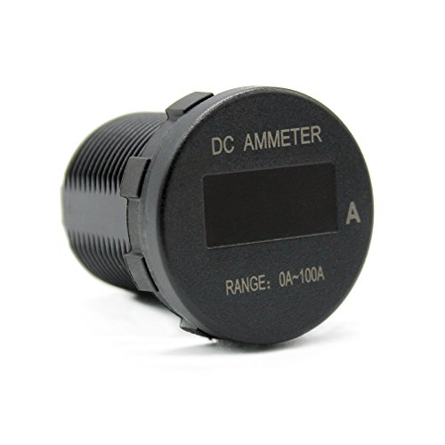 Ocamo Universal Mini OLED DC Ammeter Monitors 0-100A 12V/24V DC IP66 Current Monitor for Car by Ocamo (Image #6)
