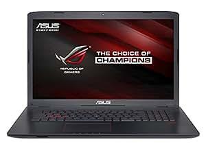 """ASUS GL752VW-T4064D - Ordenador portátil de 17.3"""" FullHD (Intel Core i7-6700HQ, 8 GB de RAM, HDD de 1000 GB, NVIDIA GeForce GTX960M), negro y gris"""