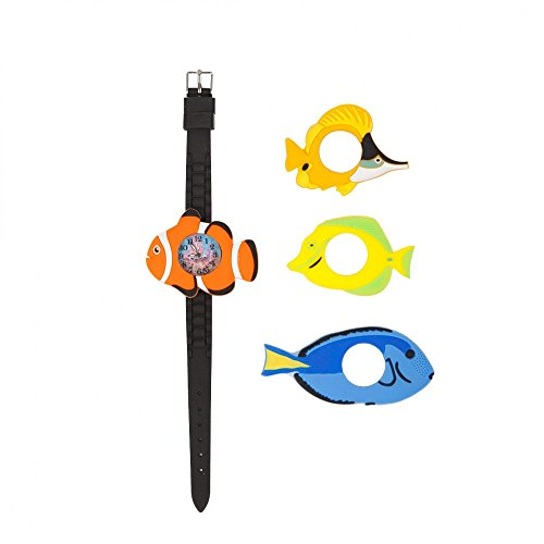 Finding Nemo Coral Costume (Under the Sea Kids Watch with Interchangeable Tropical Fish, including the Blue Tang & Clownfish as Featured in the Unrelated Disney Pixar Motion Pictures Entitled Finding Dory and Finding Nemo)