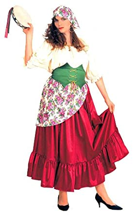 Esmeralda Plus Size Gypsy Costume - Womens Full  sc 1 st  Amazon.com & Amazon.com: Esmeralda Plus Size Gypsy Costume - Womens Full: Clothing