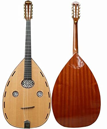 10 Seitige Gitarre Musikinstrumente Cuatro Gitarre