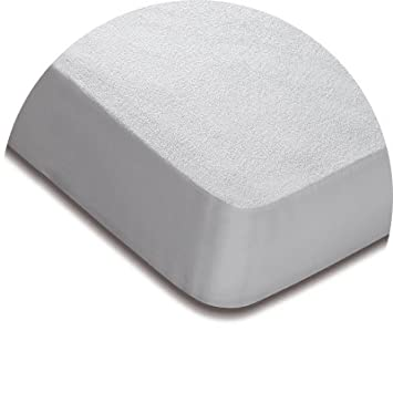 Protector ajustable Mash IMPERMEABLE TRANSPIRABLE BAMBÚ (90 x 183/190, Blanco): Amazon.es: Hogar