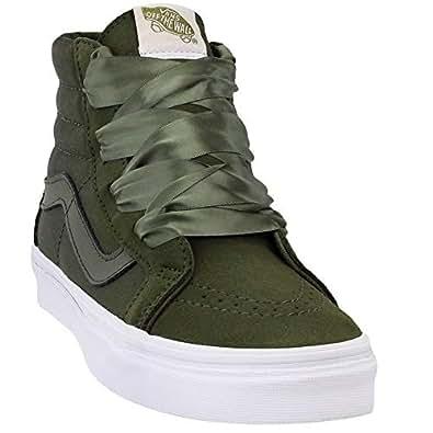 Vans SK8-HI Alt Lace Sneaker For women, 37 EU, Green