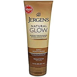 Jergens Nat Glw Med/Tan Size 7.5z Jergens Natural Glow Daily Moisturizer For Medium/Tan Skin (2 Pack)