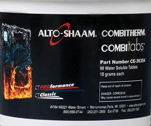 Alto-Shaam CE-36354 18 Gram Cleaning Tabs for Combitherm Ovens (Count 1)