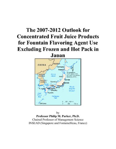 The 2007-2012 Outlook for Concentrated Fruit Juice Products for Fountain Flavoring Agent Use Excluding Frozen and Hot Pack in Japan