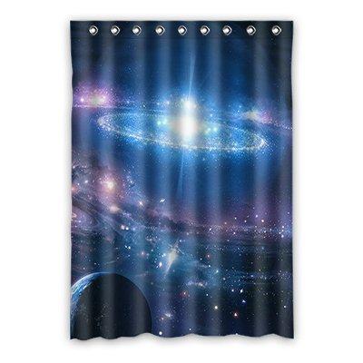 Dalliy Custom galaxy space Window Curtain Polyester 52