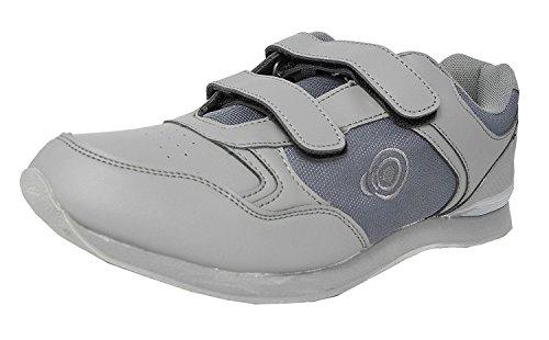 Drive textile Hommes De Pu Bowling Grey Chaussures Dek amp; Jack dqznxHd74