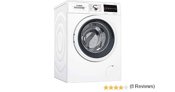 Bosch Serie 6 WAT24469ES Independiente Carga frontal 8kg 1200RPM A+++-30% Blanco - Lavadora (Independiente, Carga frontal, Blanco, Izquierda, LED, ...